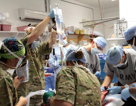 Новітня концепція хірургічної допомоги пораненим в тактичних умовах